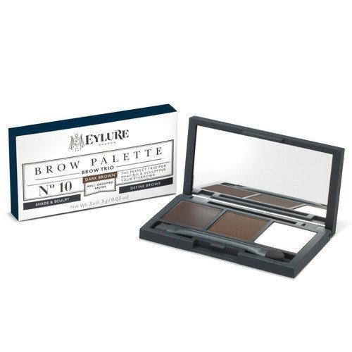 Eylure Brow Palette 10 Dark Brown