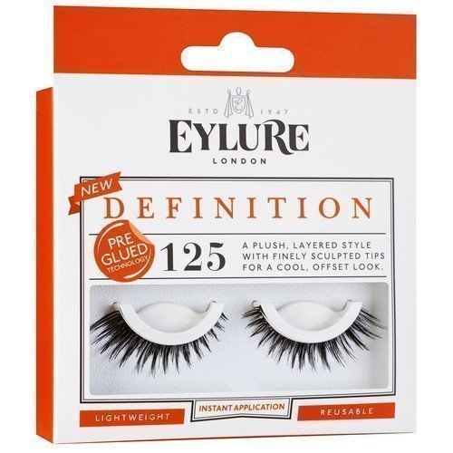 Eylure Definition Eyelashes Pre-Glued 125