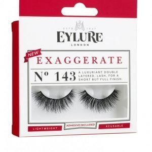 Eylure Exaggerate No. 143 Irtoripset Musta