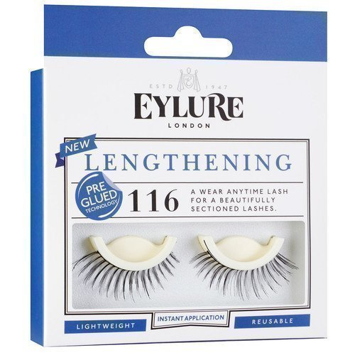 Eylure Lengthening Eyelashes Pre-Glued 116