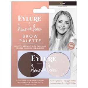 Eylure X Fleur De Force Brow Palette Dark