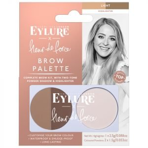 Eylure X Fleur De Force Brow Palette Light