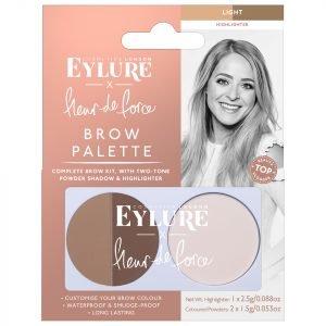 Eylure X Fleur De Force Brow Palette Light