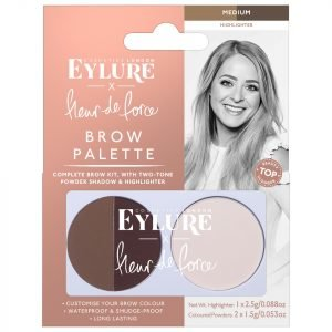 Eylure X Fleur De Force Brow Palette Medium