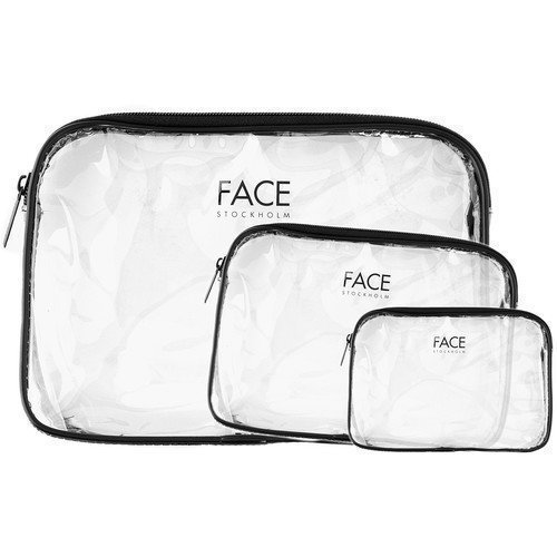 FACE Stockholm Clear Bags Large