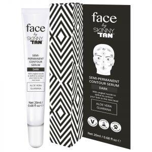 Face By Skinny Tan Contouring Serum Dark 20 Ml