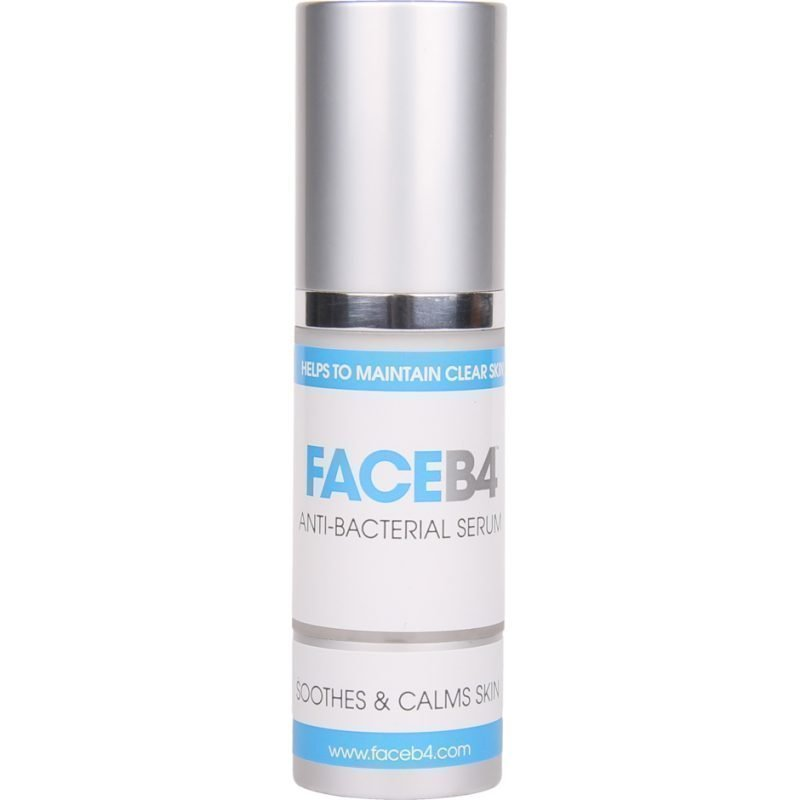 FaceB4 Anti-Bacterial Serum Soothes And Calmes Skin 30ml