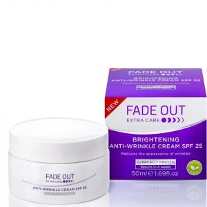 Fade Out Extra Care Brightening Anti Wrinkle Cream Spf 25 50 Ml