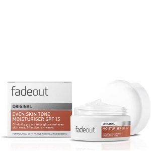 Fade Out Original Even Skin Tone Moisturiser Spf 15 50 Ml
