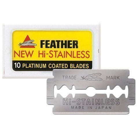 Feather 10 Platinum Coated Plates