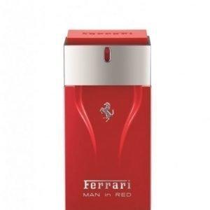 Ferrari Man In Red
