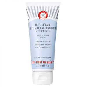 First Aid Beauty Ultra Repair Pure Mineral Sunscreen Moisturizer Spf40 56.7 G
