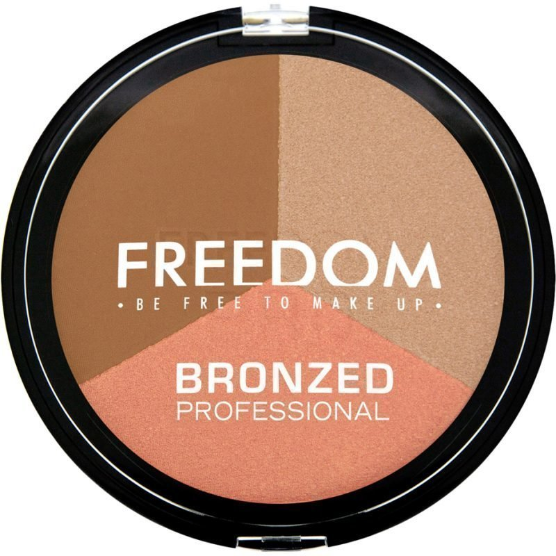 Freedom Makeup London Bronzed Professional Pro Shimmer Lights
