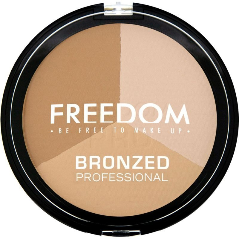 Freedom Makeup London Bronzed Professional Pro Warm Lights