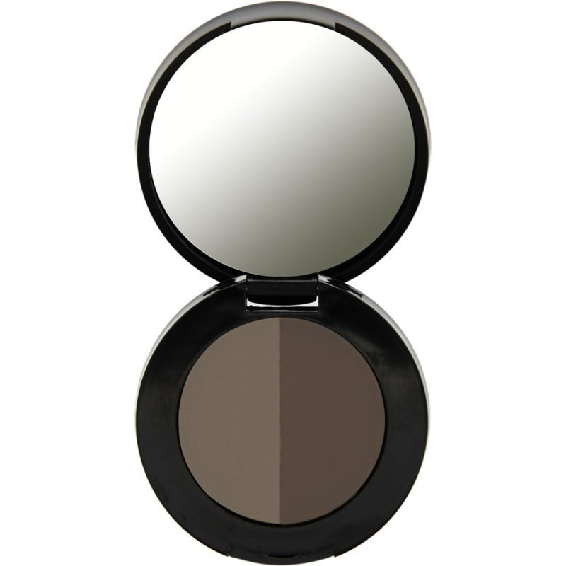 Freedom Makeup London Duo Eyebrow Powder Ash Brown