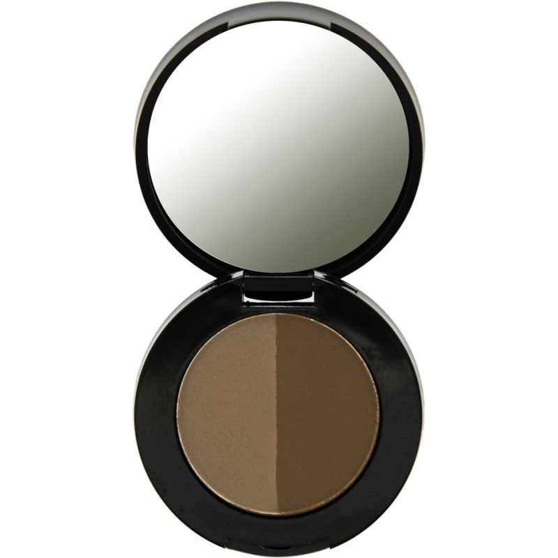 Freedom Makeup London Duo Eyebrow Powder Dark Brown