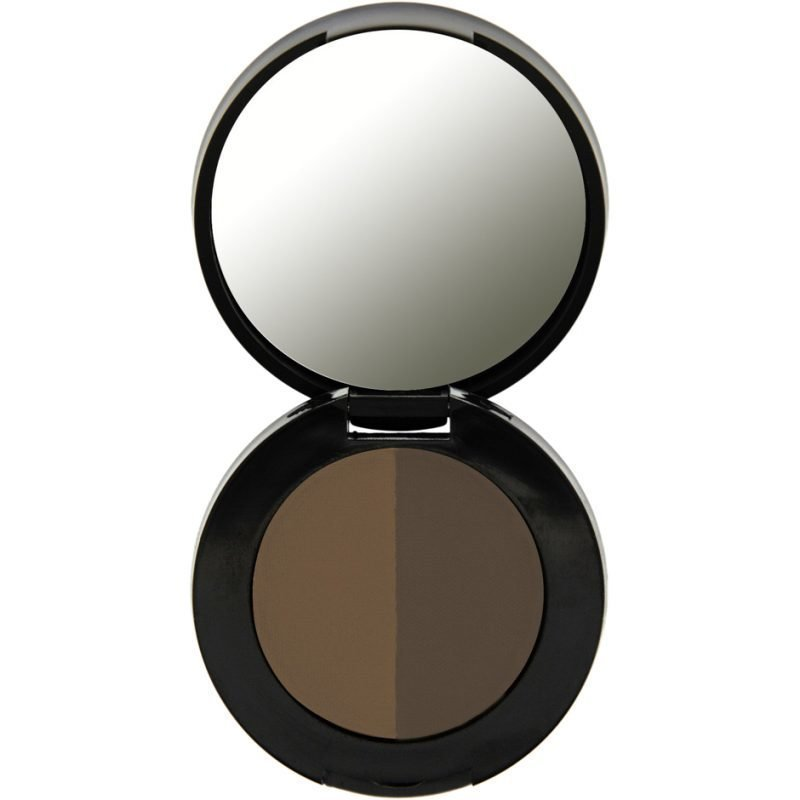 Freedom Makeup London Duo Eyebrow Powder Ebony