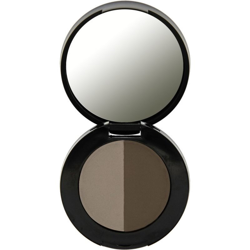 Freedom Makeup London Duo Eyebrow Powder Medium Brown