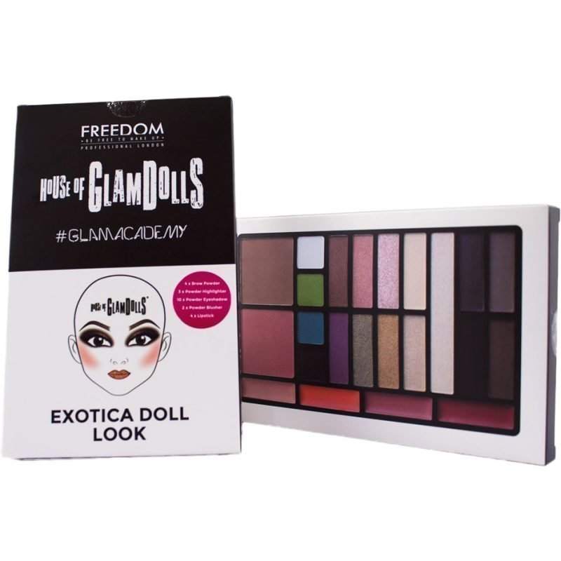 Freedom Makeup London House Of GlamDolls Exotica Doll Look