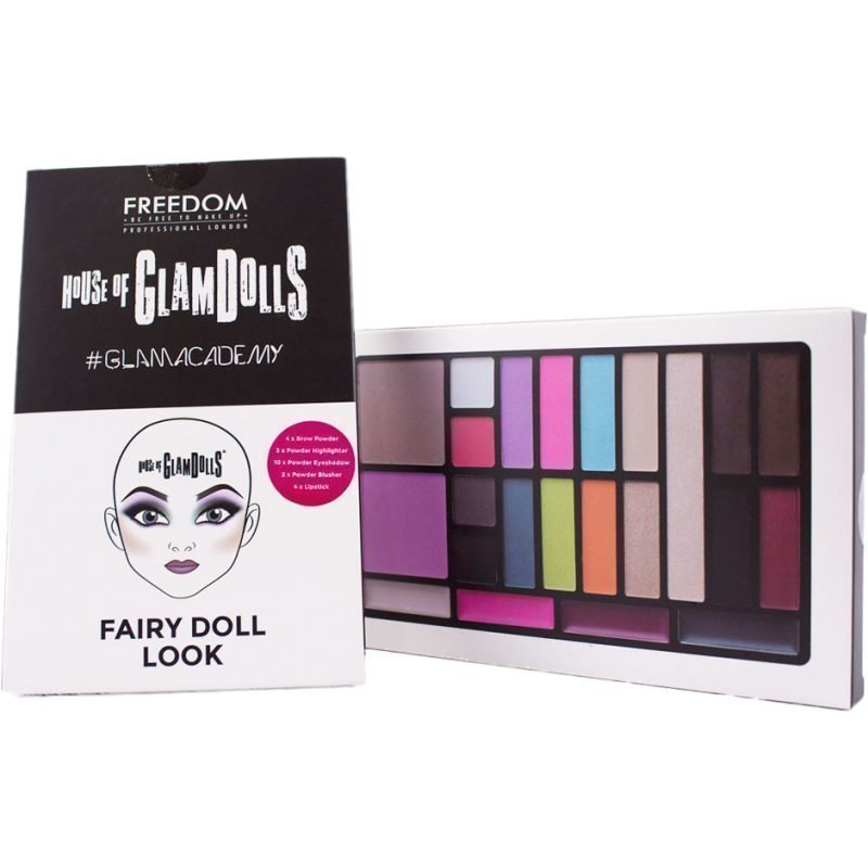 Freedom Makeup London House Of GlamDolls Fairy Doll Look