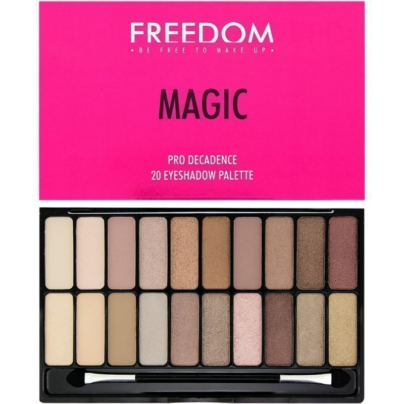 Freedom Makeup London Magic Pro Decadence 20 Eyeshadow Palette