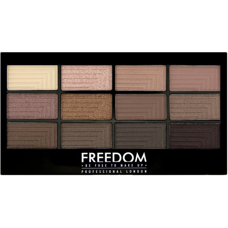 Freedom Makeup London Pro 12 Audacious 3 12 Eyeshadow