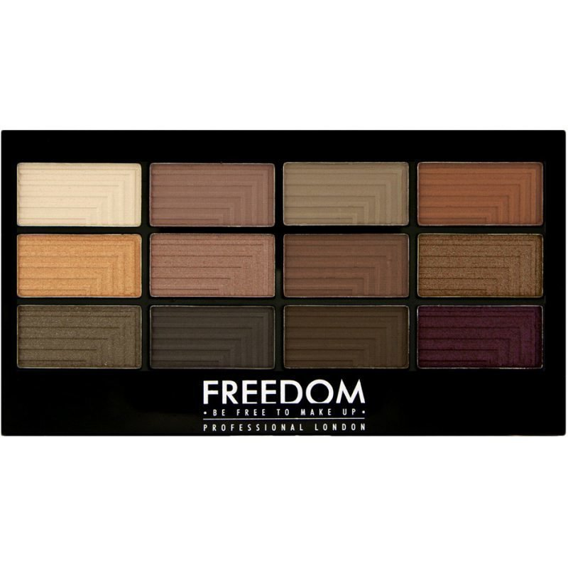Freedom Makeup London Pro 12 Secret Rose 12 Eyeshadows