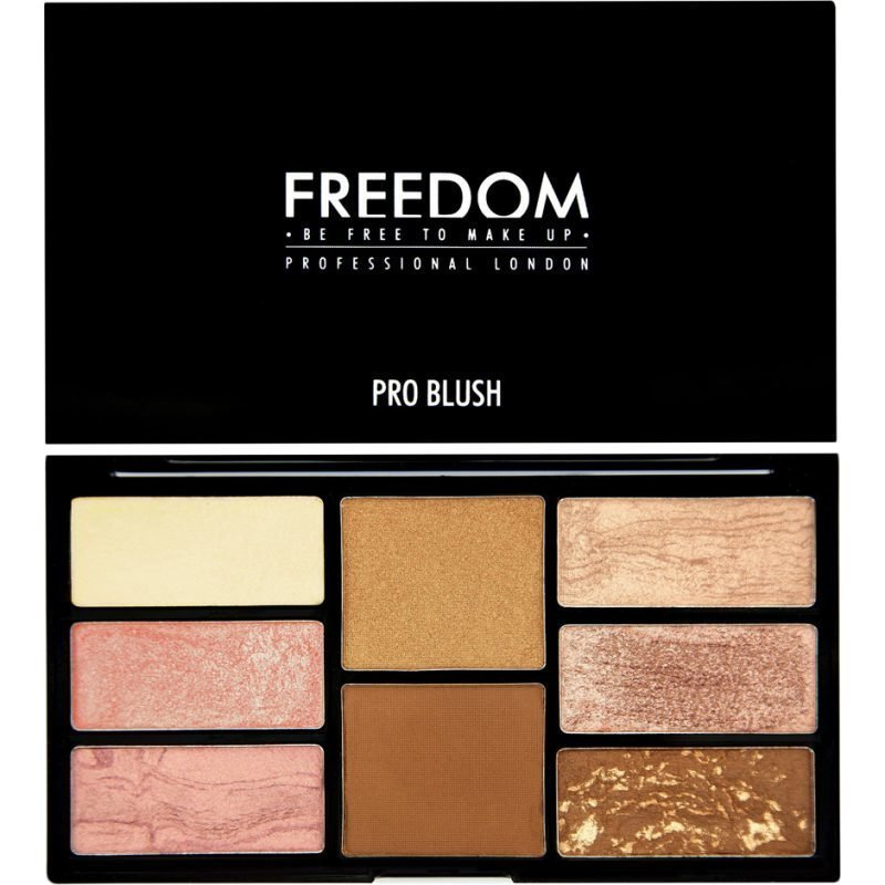 Freedom Makeup London Pro Blush Palette Bronze And Baked