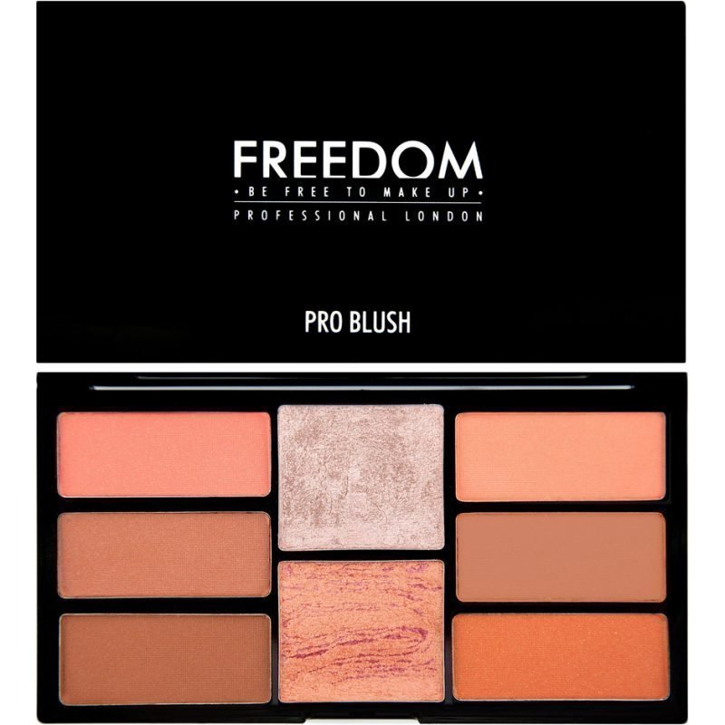 Freedom Makeup London Pro Blush Palette Peach And Baked