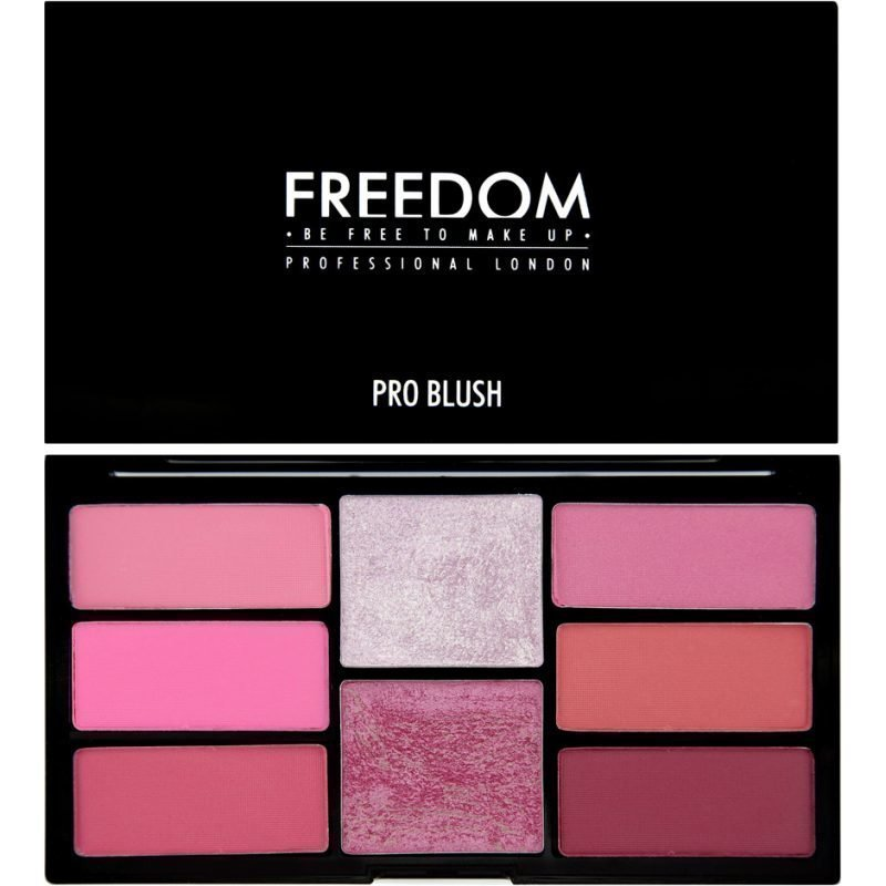 Freedom Makeup London Pro Blush Palette Pink And Baked