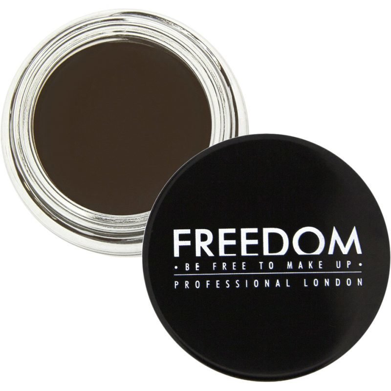 Freedom Makeup London Pro Brow Pomade Promade Ebony