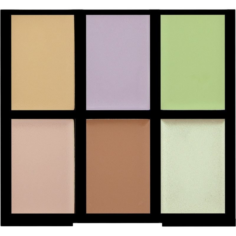 Freedom Makeup London Pro Conceal & Correct 6 Correcting Shades
