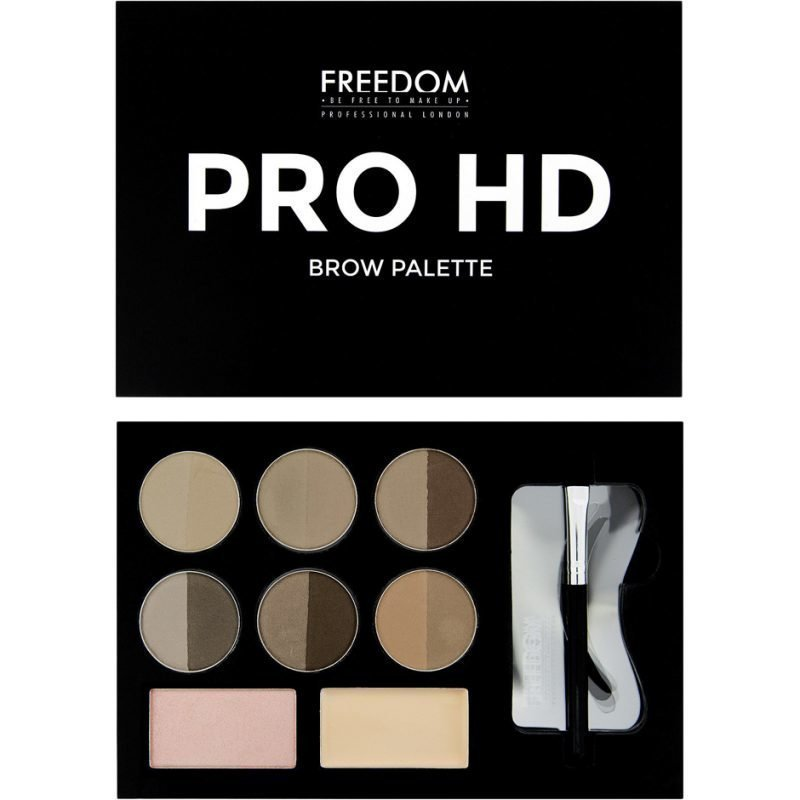Freedom Makeup London Pro HD Brow Palette Medium