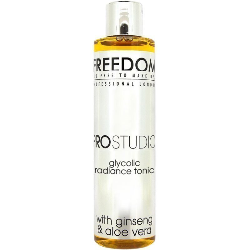 Freedom Makeup London Pro Studio Glycolic Radiance Tonic With Ginseng & Aloe Vera