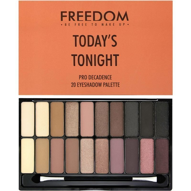 Freedom Makeup London Today´s Tonight Pro Decadence 20 Eyeshadow Palette