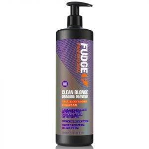 Fudge Clean Blonde Damage Rewind Shampoo 1000 Ml