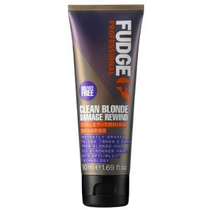 Fudge Clean Blonde Damage Rewind Shampoo 50 Ml