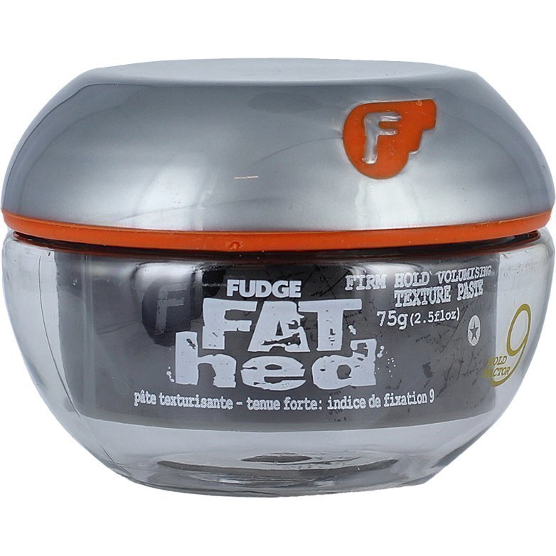 Fudge Fat Hed Firm Hold Volumising Texture Paste (Hold Factor 9)  75g
