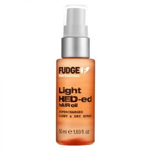 Fudge Light Hed-Ed Oil Supercharged Light And Dry Spray 50 Ml