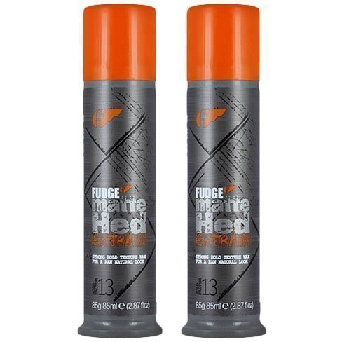 Fudge Matte Hed Extra Duo 2 x Strong Hold Max 85ml