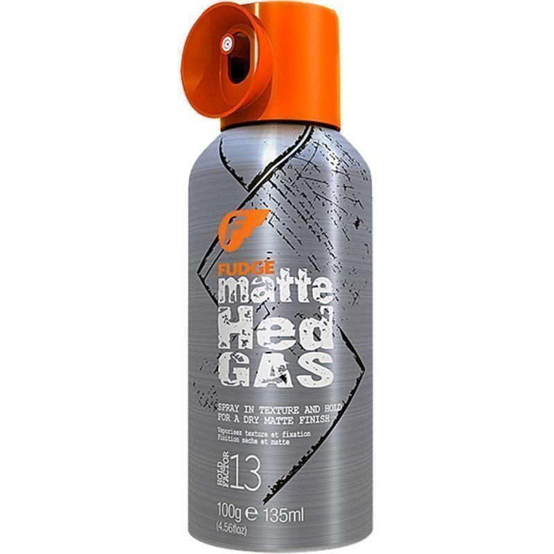Fudge Matte Hed Gas Spray In Texture (Hold Factor 13) 135ml