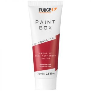 Fudge Paintbox Hair Colourant 75 Ml Red Corvette