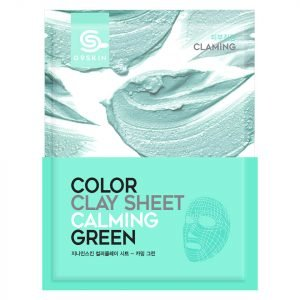 G9skin Color Clay Sheet Calming Green 20 G