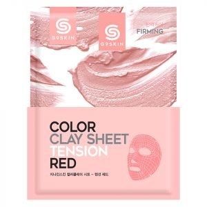 G9skin Color Clay Sheet Tension Red 20 G