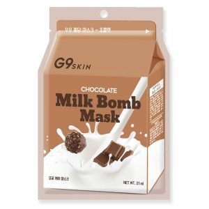 G9skin Milk Bomb Mask Chocolate 21 Ml