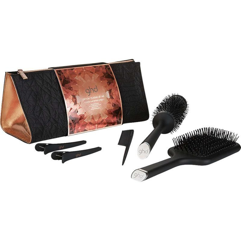 GHD Copper Luxe Collection Brush Gift Set