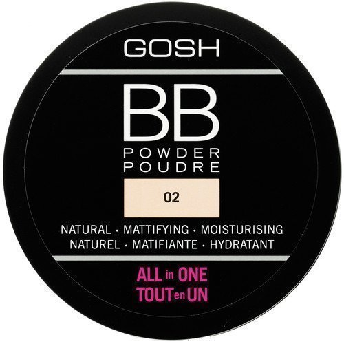 GOSH Copenhagen BB Powder All In One 08 Chestnut