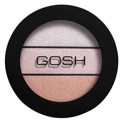 GOSH Copenhagen Eyelight Trio 003 Chunky Chocolate