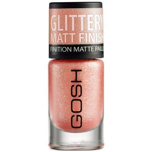 GOSH Copenhagen Nail Lacquer 07 Frosted Soft Coral