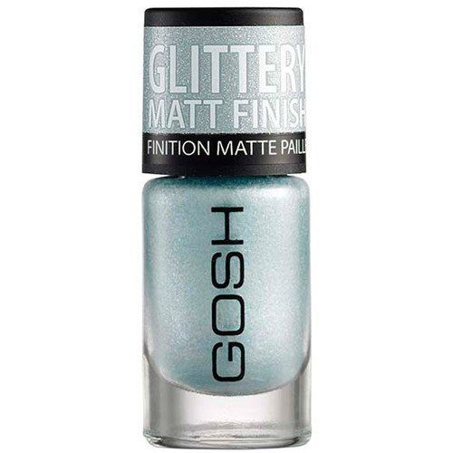 GOSH Copenhagen Nail Lacquer 08 Frosted Soft Blue
